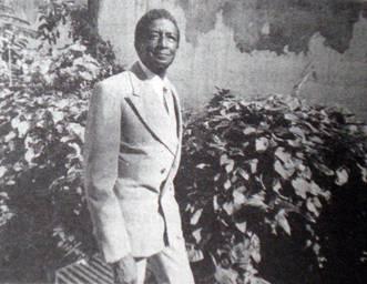 Lázaro Ross. (Foto de Mario Díaz, en el Diccionario Enciclopédico de la Música Cubana de Radamés Giró)