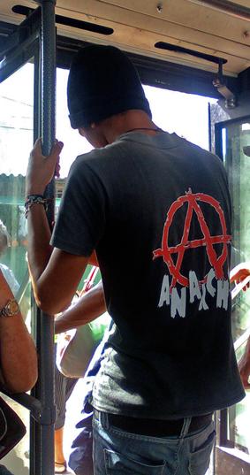 Un anarquista en Cuba. Foto: Isbel Díaz Torres