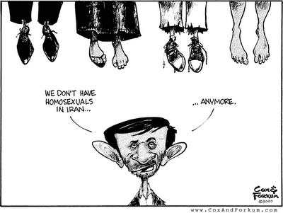 Ahmadinejad gay