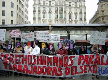 HETAIRAS: mujeres reclaman derechos humanos para las trabajadoras del sexo en España