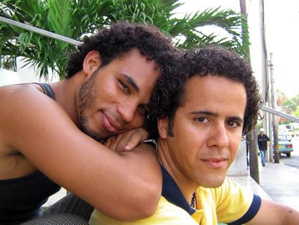 Jorge Diego e Isbel Díaz Torres, poco antes de que el primero saliera de Cuba